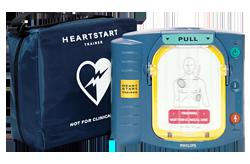 defibrillateur philips hs1 formation